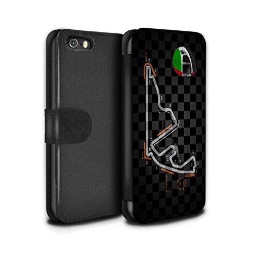 Stuff4 Coque/Etui/Housse Cuir PU Case/Cover pour Apple iPhone 5/5S / Espagne/Catalogne Design / 2014 F1 Piste Collection Abu Dhabi/Yas Marina