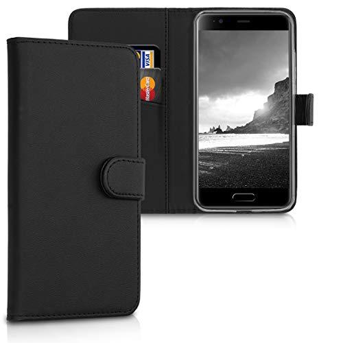 kwmobile Blackview P6000 Hülle - Kunstleder Wallet Case für Blackview P6000 mit Kartenfächern & Stand