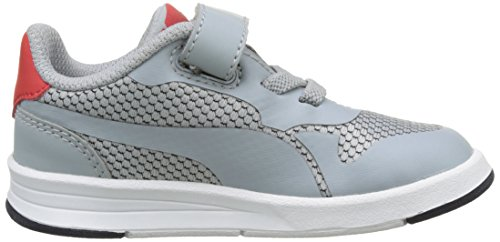 Puma Icra Evo V Inf, Sneakers Basses Mixte Enfant Gris (Quarry-quarry 05)