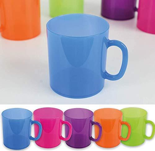 RDI 6 Kaffeebecher Kunststoffbecher Plastikbecher Becher Trinkbecher Campinggeschirr