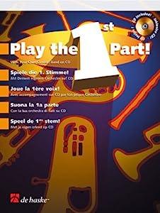 Speel de 1ste stem! - Trumpet/Flugel Horn/Baritone/Euphonium - BOOK+CD