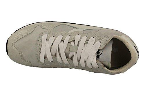 High Sneakers Diadora HERITAGE Femmes 161 895 01 20006 TRIDENT W MID REPTILE Blanc