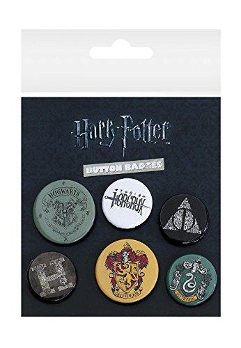 GB Eye, Harry Potter, Mix, Set de Boutons,