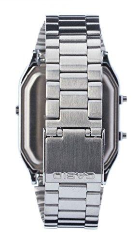 Casio Unisex- Armbanduhr Analog – Digital Quarz Retro Dual - 2