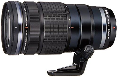 Olympus M.Zuiko Digital ED 40-150mm 1:2.8 Pro Objektiv (inkl. MC 1.4 Telekonverter) für MFT Objektivbajonett, schwarz