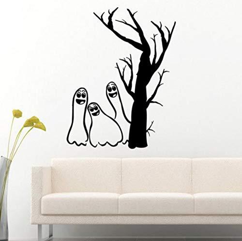 Halloween Lustige Dekorative Muster Teufel Hintergrund Home Bad Restaurant Küche Shop Bar Spielhalle Art Deco 45 cm * 58,3 cm ()