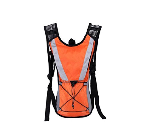 Spalle Bicicletta All'aperto 2L Hydration Pack,RoseRed Orange