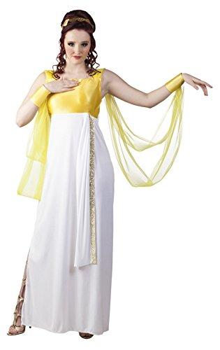Frauen Kostüm Aphrodite - Fancy Ole - Damen Frauen Kostüm Aphrodite, griechische Göttin, Weiß, M