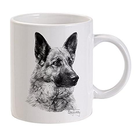 Mike Sibley Deutscher Schäferhund (Bild 1) weiße