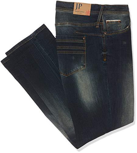 JP 1880 Große Größen Herren Vintage Größen Straight Jeans Blau (Dark Denim 93) W45/L36 (Herstellergröße: 60) -