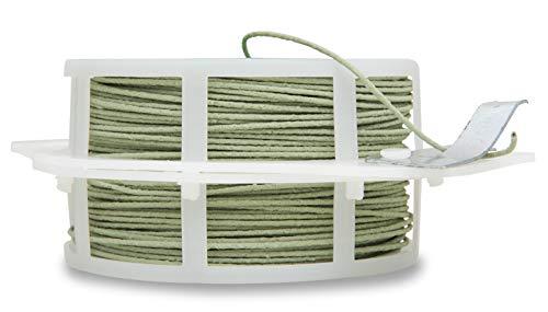 Windhager Rankdraht Pflanzendraht Blumendraht Kletterhilfe Rankhilfe Wickeldraht, guter Halt für Pflanzen, plastifiziert, grün, 50 m, 06213