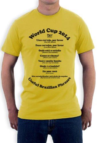 Useful Brazilian Phrases T-Shirt Gelb