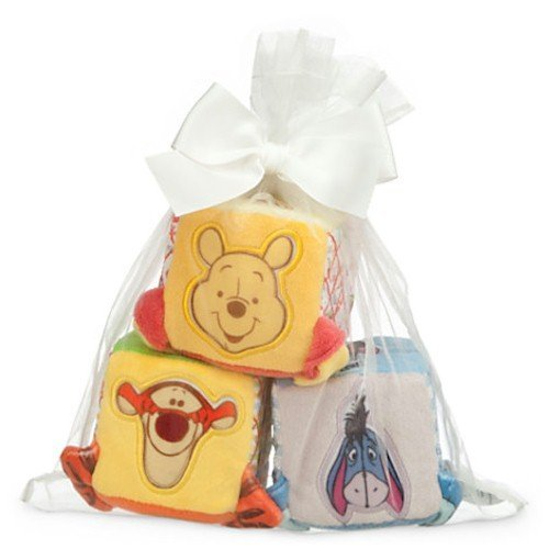 Disney Winnie the Pooh and Pals Soft Blocks for Baby by Disney