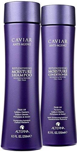 Alterna Caviar Anti-Aging Seasilk Moisture Shampoo & Conditioner Duo (8.5 oz each) by Alterna