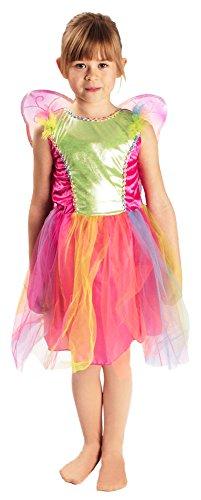 Kleinkind Lila Kostüm Schmetterling - Schmetterling-Kostüm in bunt | Größe 98-104 | Kinder-Kostüm-Butterfly 2tlg. (98/104)