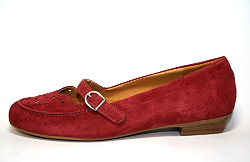 Theresia Muck by Naot Heria M67516 006 701 Damen Schuhe Ballerinas Weite H Rot (pepperoni 502)