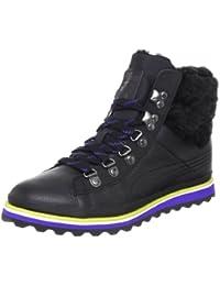 Puma City Snow Boot Fur Womens Leder Boots / Schuh - schwarz