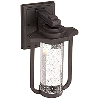 Artcraft Lighting North Star Outdoor LED Wall Mount Porch Light, Black by Artcraft Lighting