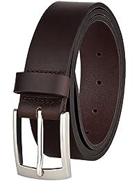 9638bd1814e391 Ledergürtel von MACOSTA, Freizeit und Business Gürtel aus echtem Leder
