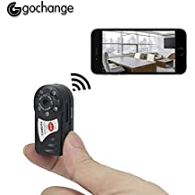 gochange Mini P2P WIFI Spycam, HD DVR Mini Recorder, cámara IP unterstützungs IR Visión
