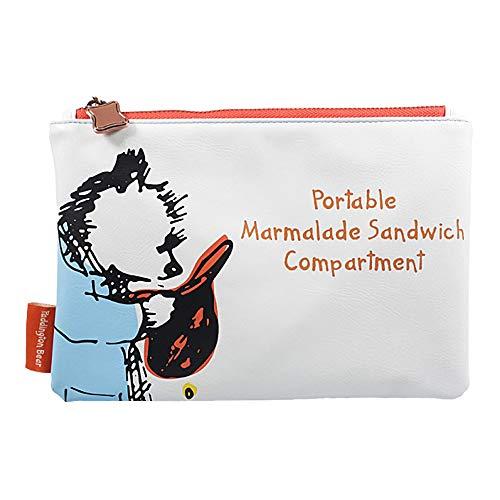 Echte Paddington Bär Marmelade Sandwich Reisetasche Kulturbeutel Stift Fall Geldbörse -