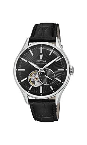 Festina Reloj Análogo clásico para Hombre de Automático con Correa en Cuero F16975/3