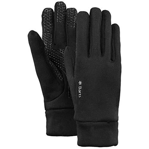 Barts Unisex Handschuhe Powerstretch Plus, Schwarz (Nero 1), S/M (Herstellergröße: S/M)