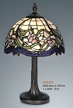 Floral Design Tiffany Style Table lamp