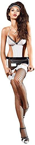 Baci BD1339-OS Frauen Five Star Französisch Maid kostüm-schwarz / weiß, (one size)