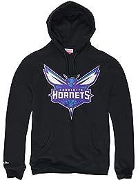 Mitchell ness & charlotte hornets à capuche avec logo