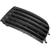 Cikuso Rejilla de Parachoques Inferior Izquierdo Delantero para VW Golf Mk5 Hatchback 05-09