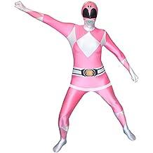 Morphsuits - disfraz de vestuario como Power Rangers, Adulto, talla: L, color: rosa