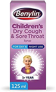 Benylin Children'S Dry Cough and Sore Throat Syrup, 125ml