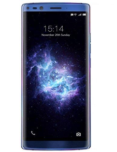 DOOGEE MIX 2 - 5,99 Zoll (18: 9-Verhältnis) FHD Android 4G Smartphone Gesichtserkennung, Helio P25 Octa Core 2,5 GHz 6 GB + 128 GB, Quad-Kamera (Weitwinkel) 4060mAh Batterie - Blau