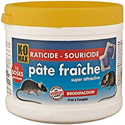 K-OMAX Raticide souricide pâte fraiche, Multicolore