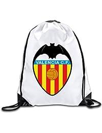 Liumiang Bolsos de Lazo,Mochilas, Eco-Friendly Pirnt Valencia CF Exotic Drawstring Backpacks