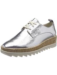 Hilfiger Denim Damen Metallic Platform Lace up Shoe Sneaker