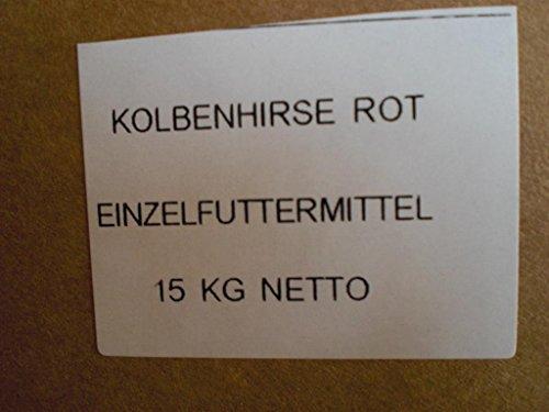 Kolbenhirse rot 15 kg Anhaltiner Premiumfutter