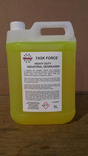 5L Mistral Heavy Duty Industrial Cleaner & Degreaser - Task Force