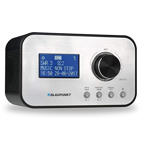 BLAUPUNKT CLRD 30 BK BLAUPUNKT CLRD 30 Radiowecker | Digital Radio DAB+ | Uhrenradio mit USB Ladefunktion | Zwei Weckzeiten | Snooze Funktion und Sleeptimer | 6 Watt RMS |RDS (Senderanzeige) Schwarz