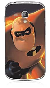 Upper Case Fashion Mobile Skin Sticker For Samsung Galaxy S Duos S7562