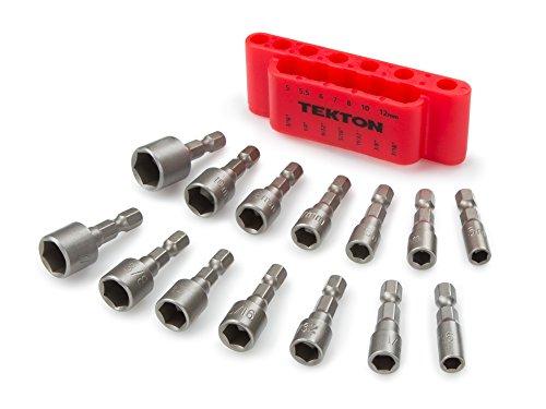 tekton-2938-quick-change-power-nut-driver-bit-set-with-detents-14-piece