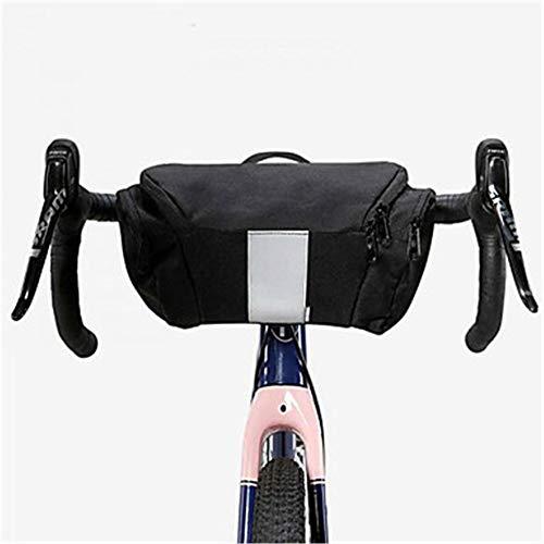 OYHN Bolsa para Manillar Multi Capa Bandas Reflectantes Duradero Bolsa para Bicicleta Tejido 300D poliéster Bolsa para Bicicleta Bolsa de Ciclismo Ciclismo Bicicleta de Pista Bicicleta de Montaña Al