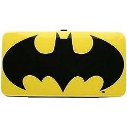 Batman logotipo brillante monedero billetera grande de señora y niños