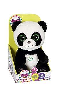 Gipsy squishimals Panda Peluche, 70850, Negro, 25cm