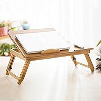 Comparador de precios ZSHzdz Mesa de Madera Escritorio de la computadora Cama Plegable Lazy Notebook portátil Pequeño Escritorio Portable Small Table (Tamaño : A) - precios baratos