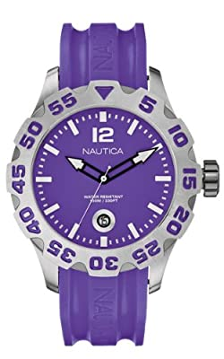 Nautica A14606G - Reloj analógico de caballero de cuarzo de Nautica