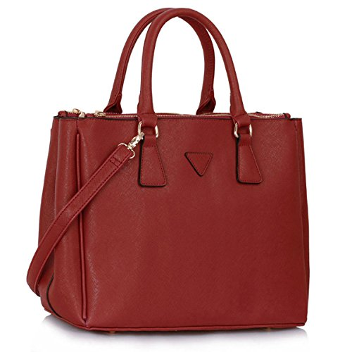 Xardi London, Borsa tote donna Burgundy