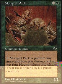 Magic: the Gathering - Mongrel Pack - Tempest by Magic: the Gathering - Mongrel Pack