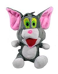 A-Mart soft toy cat sitting grey size 8 inch
